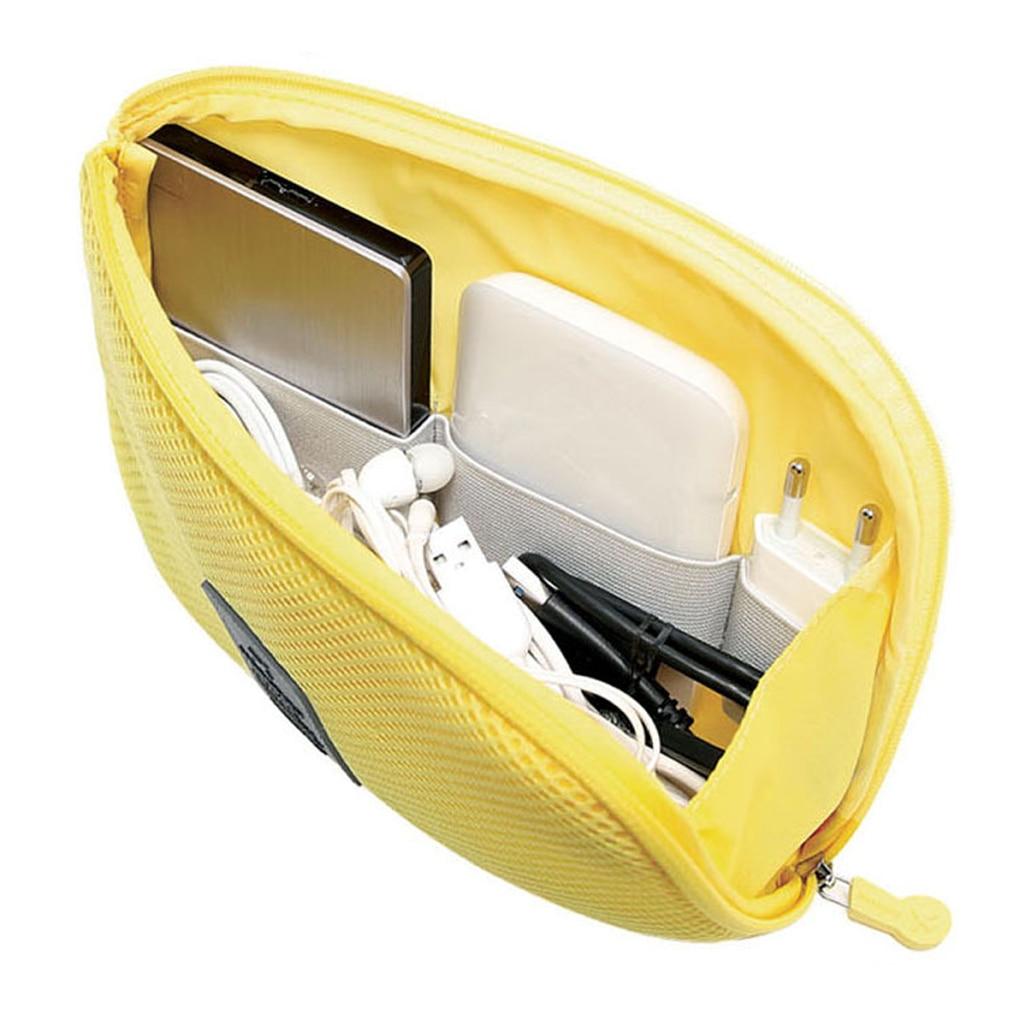 Portable Data Cable Storage Bag Earphone Wire Organizer Case for Headphone Line Headset Closet Organ