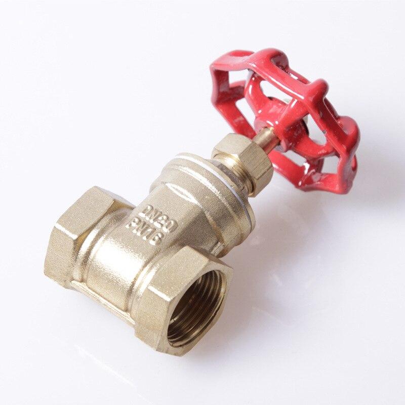 Venta directa de fábrica DN15/20/25/32/40/50 válvula de compuerta de casa, válvula de compuerta para el proyecto dedicado Válvula de forja de latón