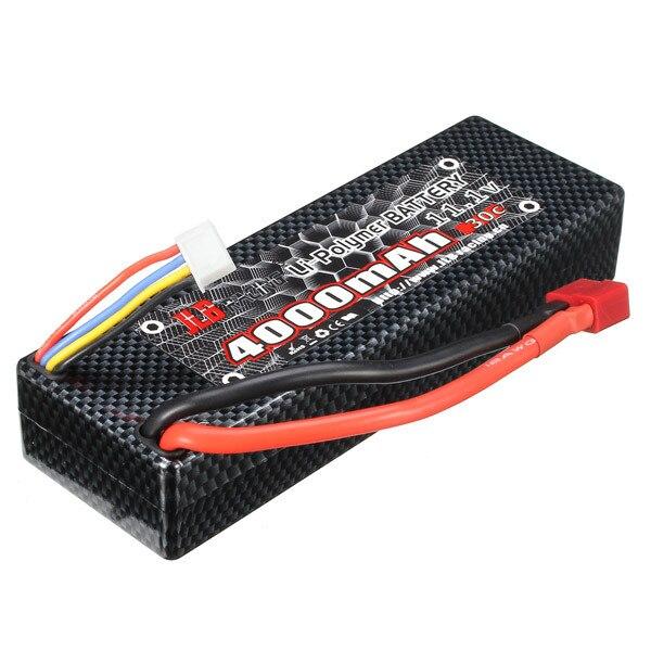 JLB Racing CHEETAH 1/10 Brushless RC Car Battery 11.1V 4000mAh 30C T Plug For Rc Car