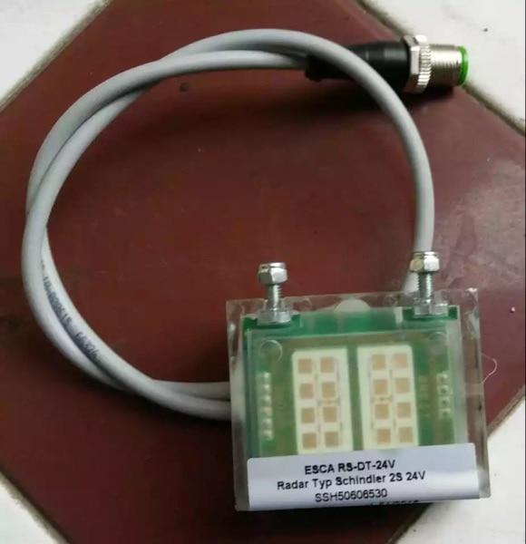Schindler escalera 9300/9500 radar ESCA RS-DT-24 ID SSH50606530C 50606530