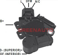 14V New Alternator Voltage Regulator 493811 SG9B082 For FORD FOR GM For Alternator OEM 439427 439428 SG9B051 SG9B056 93312974