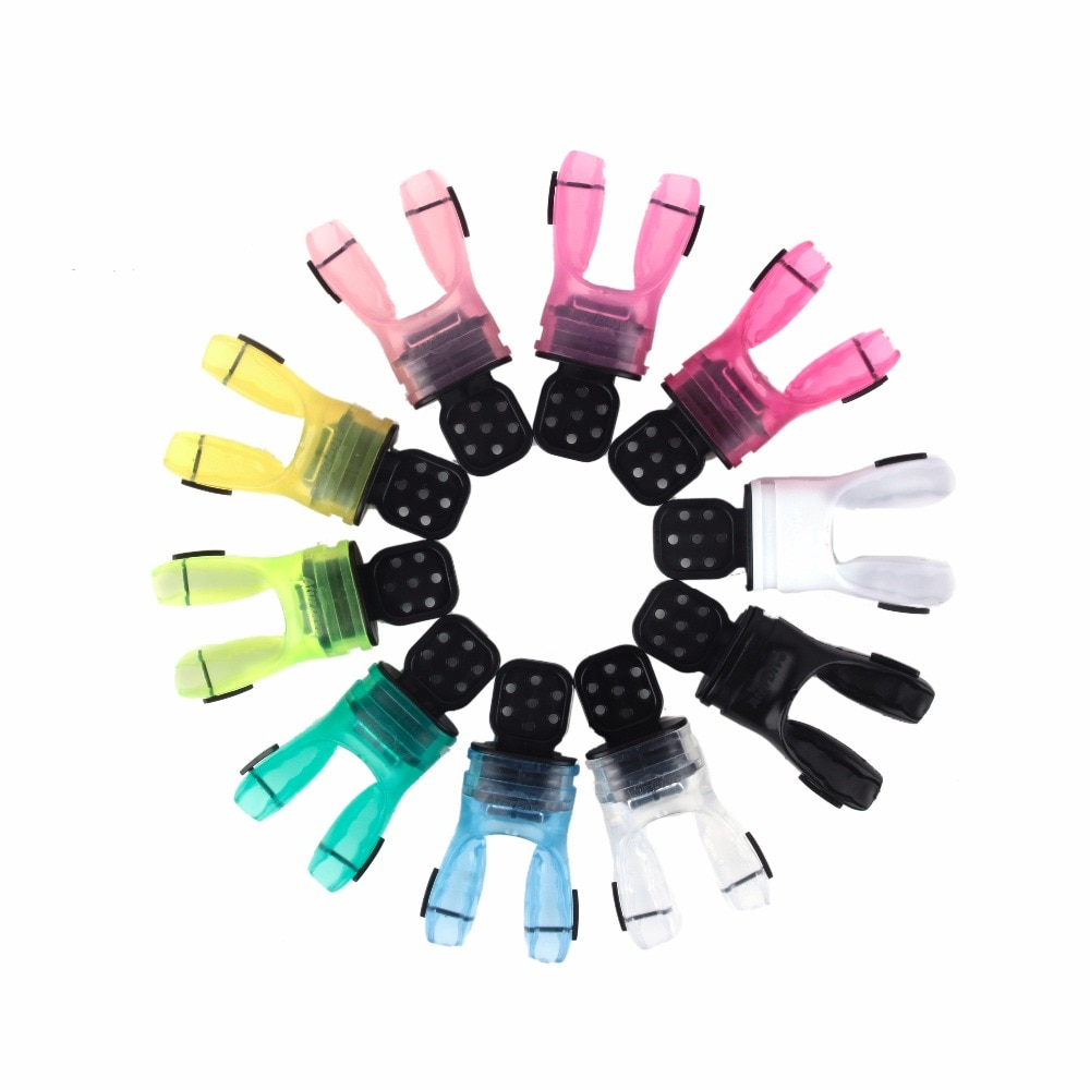Boquilla de equipo de buceo snorkel de alta calidad, garantía de seguridad, boquilla de buceo FDA, 11 colores, equipo de buceo gratis