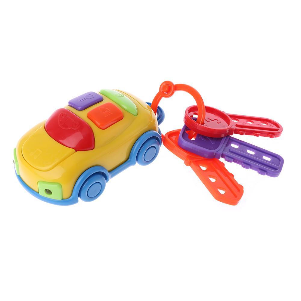 Llave de coche, coches musicales, juguetes educativos para edades tempranas, Gadget de aprendizaje, juegos musicales inteligentes, juguetes para niños, juguetes preescolares para bebés