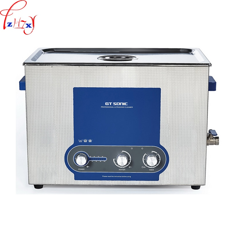 NEW Power ajustável relógio jóias mais limpo máquina de limpeza ultra-sônica máquina de limpeza ultra-sônica 6L 110/220 V 1 PC