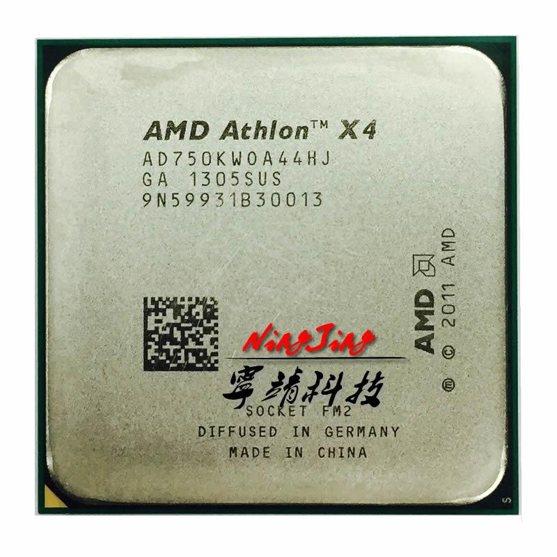 AMD Athlon X4 750K 750 de 3,4 GHz Duad Core CPU procesador AD750KWOA44HJ hembra FM2 +