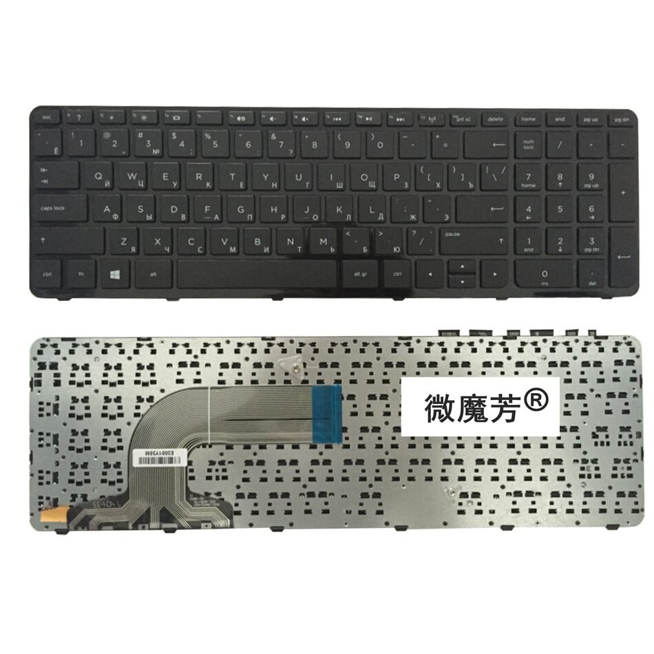 Ru клавиатура для HP PAVILION 15-E 15 15-N 15T 15E 15N 15N017AX 15E029TX E066TX PK1314D2A05 V140502AS1