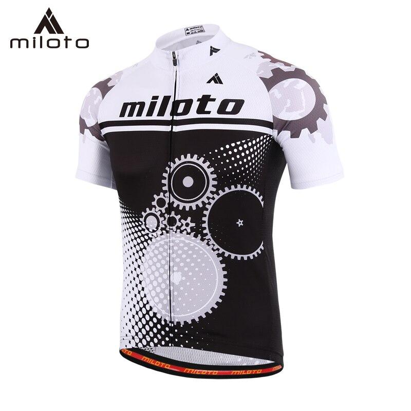 Maillot de ciclismo MILOTO para hombre, ropa de ciclismo de verano mtb, ropa de ciclismo de secado rápido, maillot de ciclismo para hombre, ropa deportiva para bicicleta de carretera