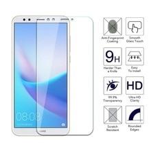 2PCS Screen Protector mobile phone For Huawei Y3 Y5 Y6 Y7 Y9 2017 Prime 2018  Pro Tempered Glass Fil