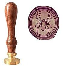 Mdlg vintage fresco araña Spiderman Custom Picture logo invitación de boda Cera sello Kit (sello solamente)