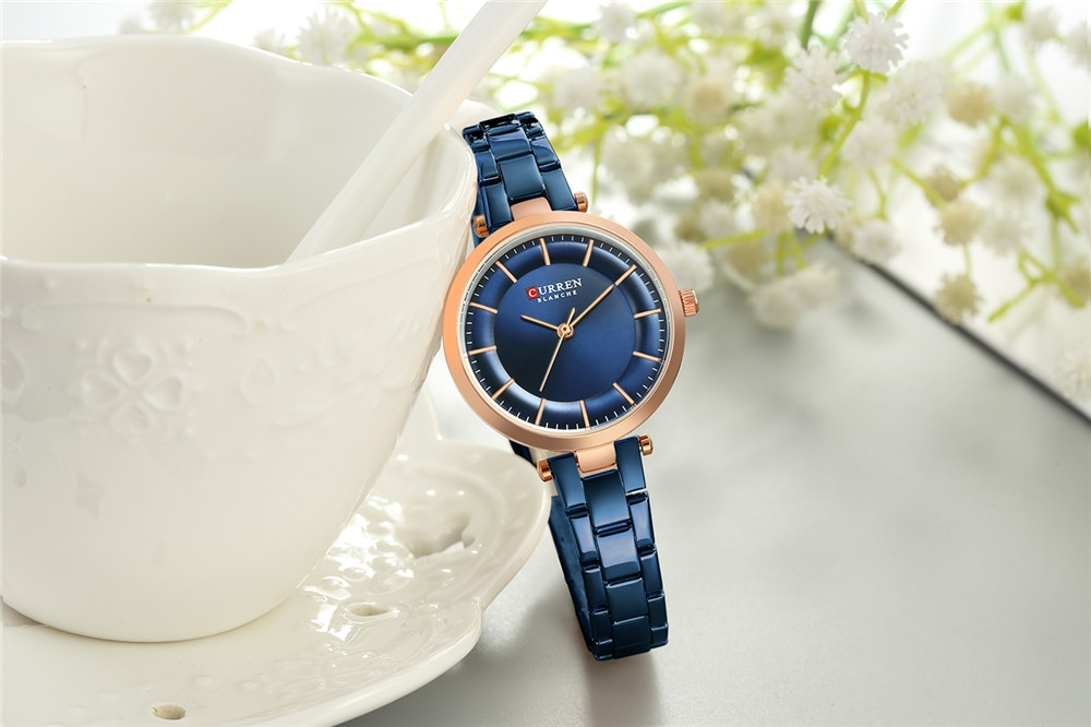 2019 CURREN Brand Fashion Watches Women Bracelet Analog Wristwatch Luxury Stainless Steel Relogio Feminino Montre Relogio Clock enlarge