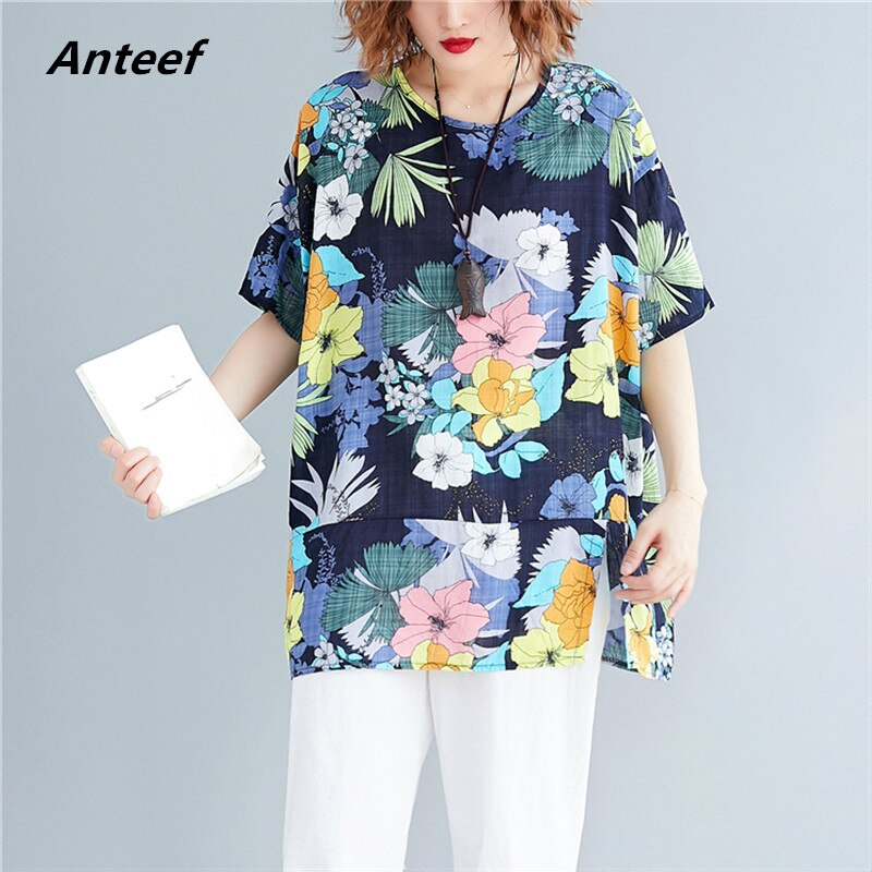 cotton korean style plus size vintage casual loose summer tee t shirt women t-shirt ladies tshirt clothes 2020 tops streetwear
