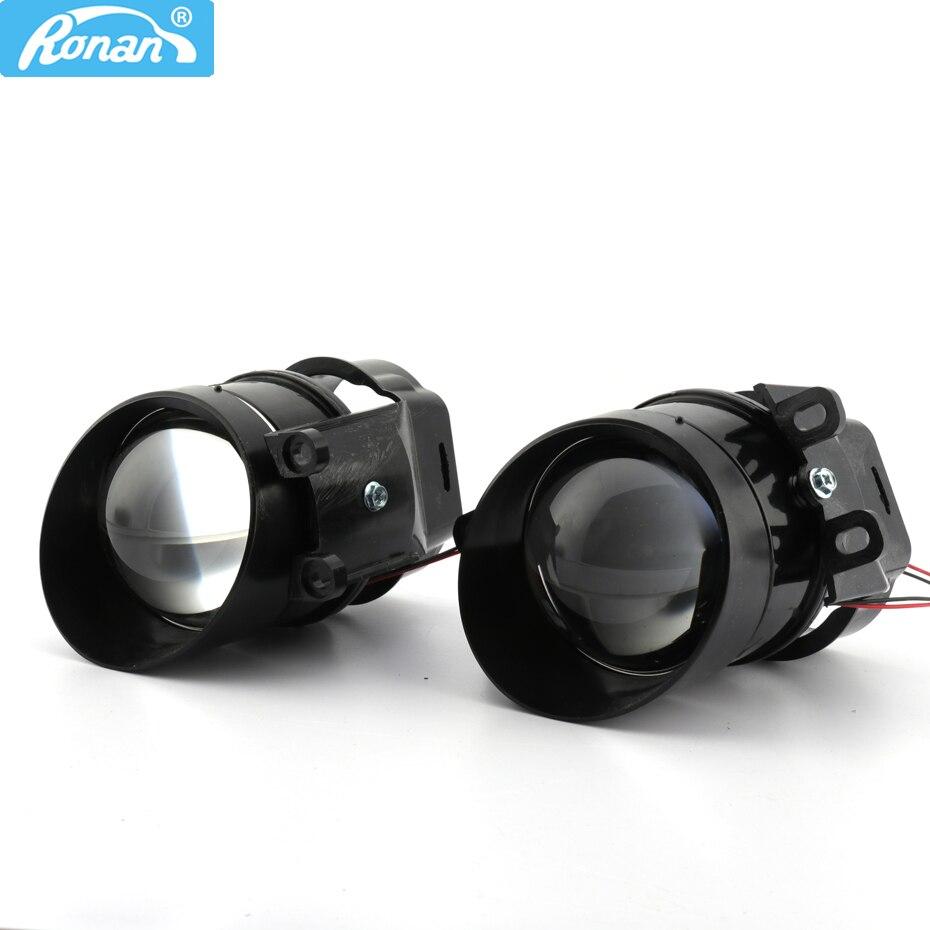 Ronan 2 pçs 3.0 polegada g2 tipo bi xenon luz de nevoeiro lente do projetor à prova d2s água uso d2s d2h h11 lâmpadas para camry le-xus 350 retrofit carro
