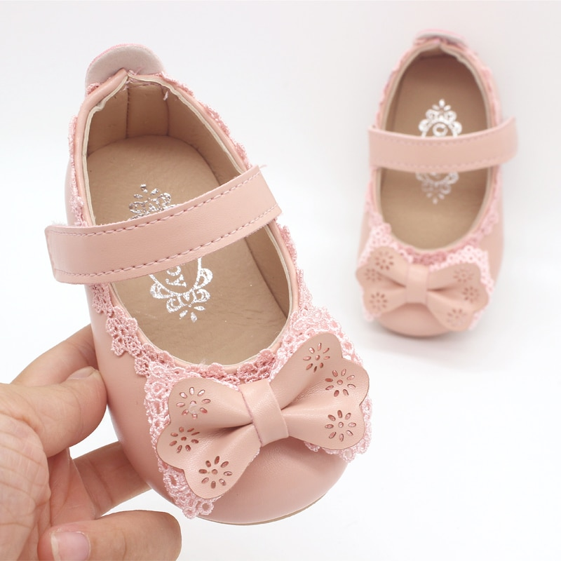 Children Shoes Girls Shoes Princess Shoes Fashion Bowtie Leather Autumn Kids Single Shoes Girls Sandals Dance Shoes A16 girls leather shoes children girls baby princess bowknot sneakers pearl diamond single shoes kids dance shoes newest autumn