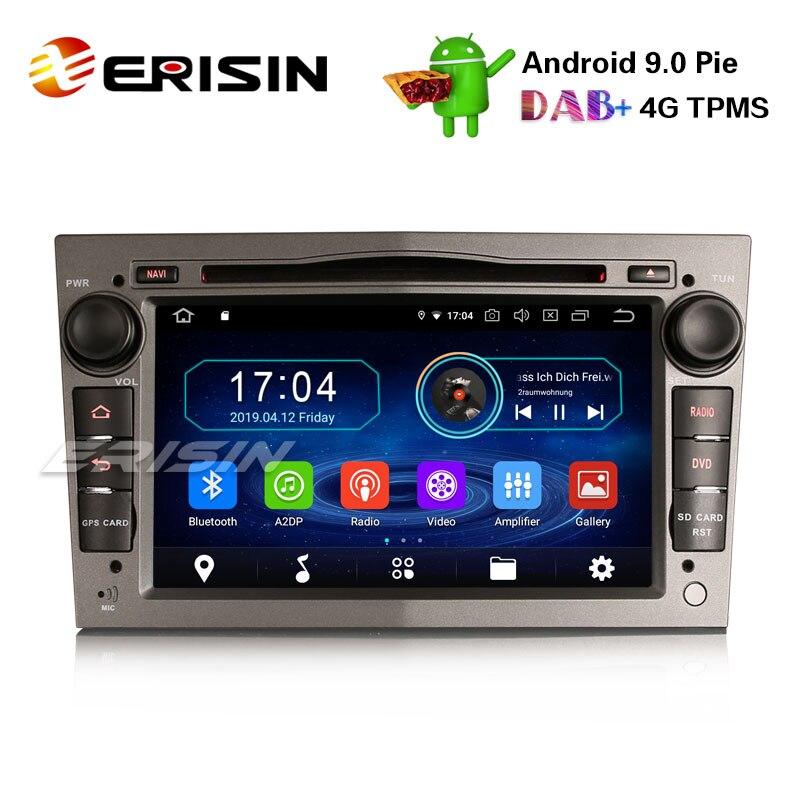 "Erisin ES4960PG 7"" Car Stereo Android 9.0 DAB+ GPS BT for Opel Vauxhall Vivaro Astra Corsa Zafira Signum"