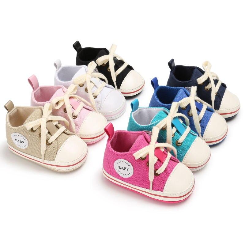 Baskets de sport pour enfants   Chaussures de course pour bébés garçons et filles, semelle souple, en toile, premier marcheur, chaussure de marche pour bébés