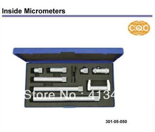 Inside Micrometers  50-150mm.2-6inch.301-12-050 The stem diameter micrometer