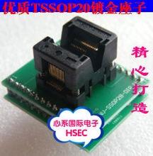 Original TSSOP20 to DIP20 Adapter /TSSOP8 Adapter  IC Test Socket Programmer adapter 0.65mm Pitch