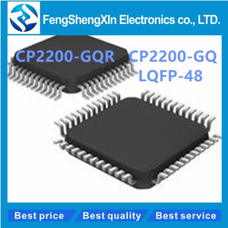 10 unids/lote CP2200-GQR CP2200 TQFP48 SINGLE-CHIP controlador ETHERNET IC
