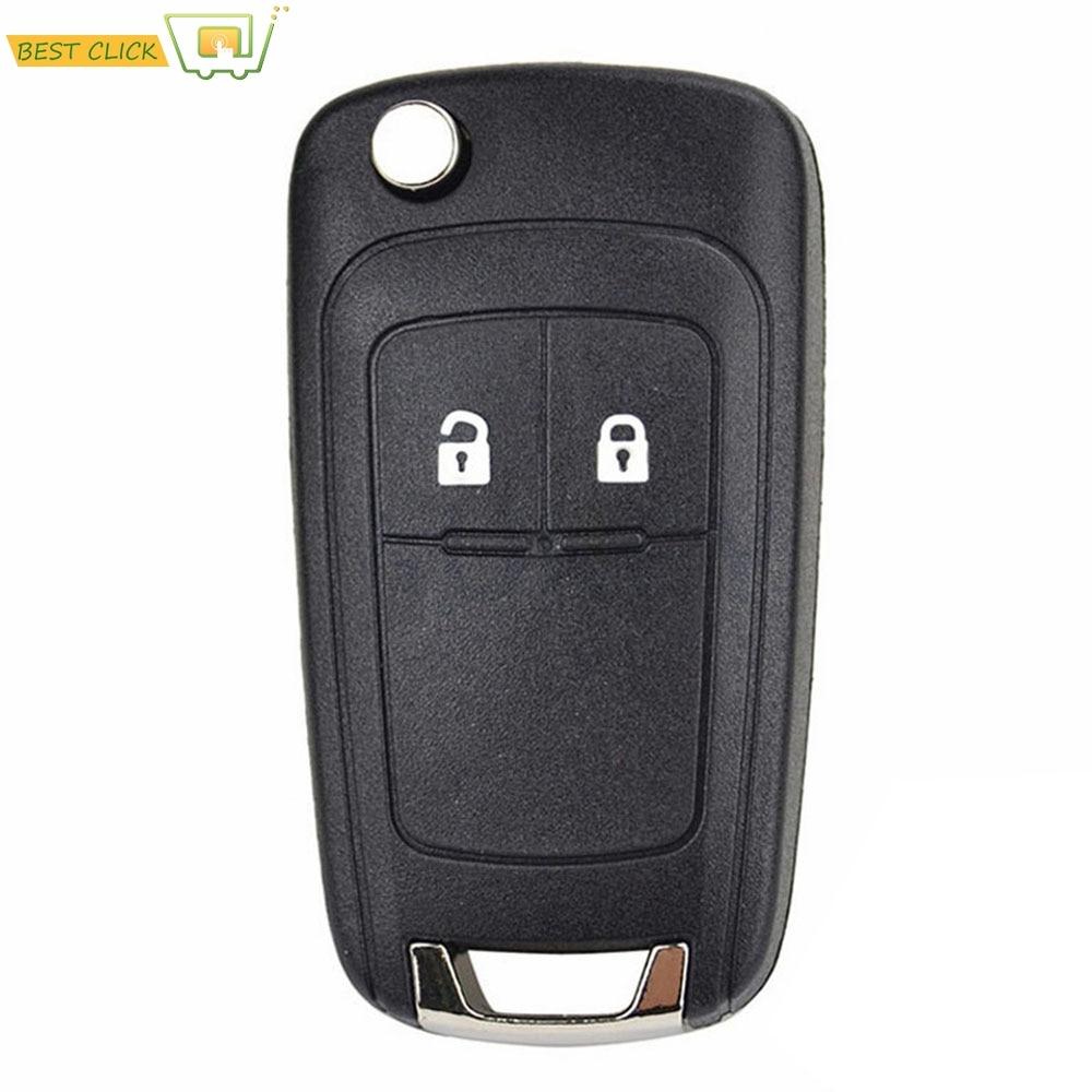 2 Button Car Key Replacement Remote Flip Key Cover Shell For Opel Adam Astra J Insignia Mokka Zafira C Corsa Cascada Meriva Karl