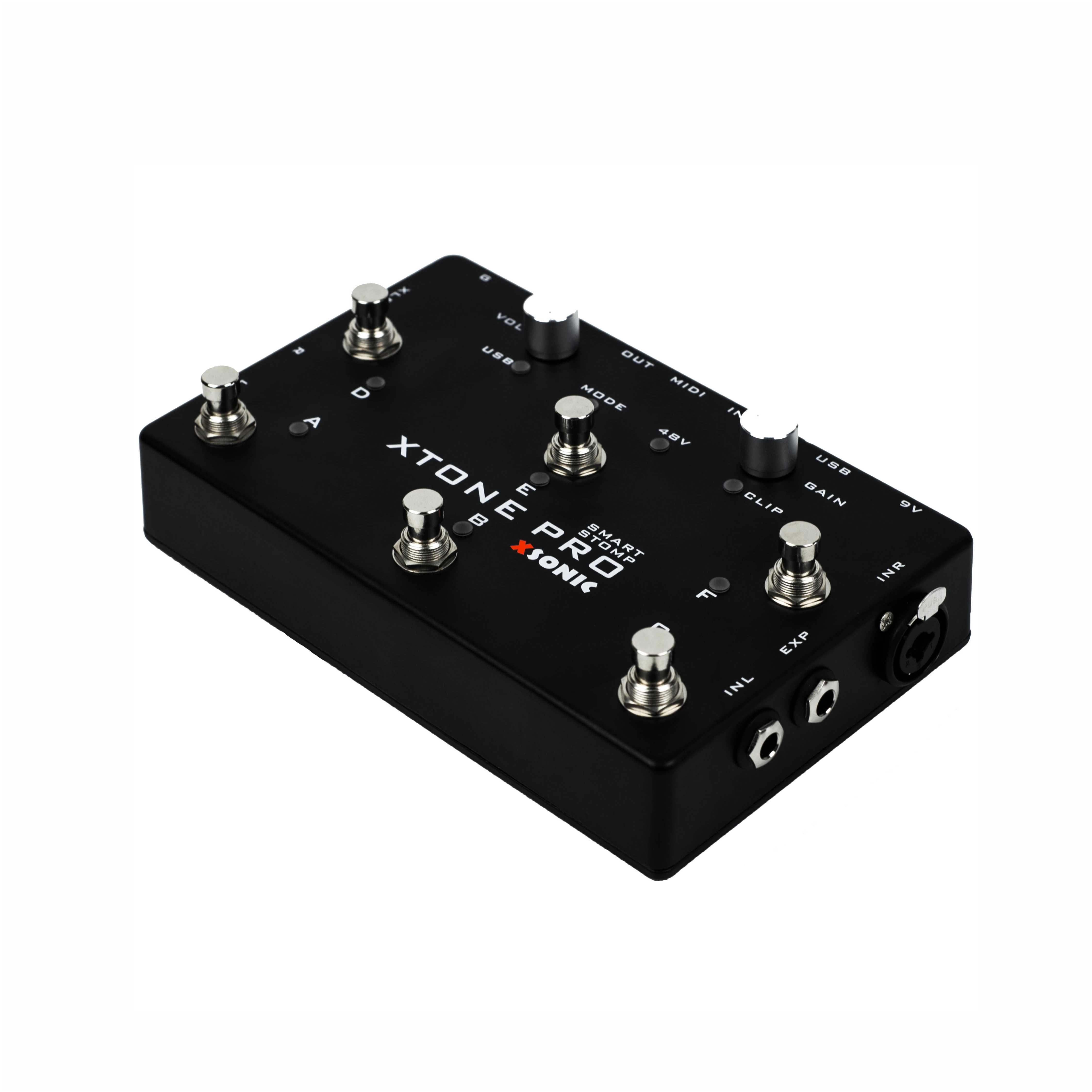 XTONE PRO 192K профессиональный мобильный аудио интерфейс с MIDI контроллером для iphone/ipad/PC/MAC и ультра низкой задержкой