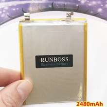 100% New High Quality 2480mAh Battery For innos D6000 BAK U366074P Mobile Phone Batteries