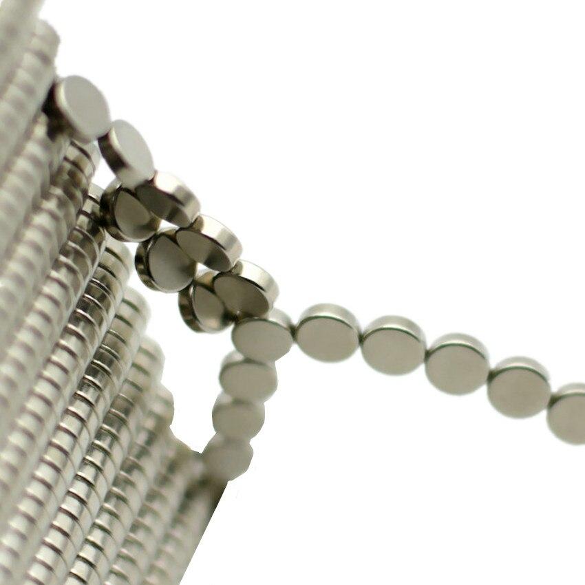 Imán diametralmente magnetizado NdFeB, diámetro 6x2mm, experimento, instrumentación de precisión, imanes, triangulación de envíos