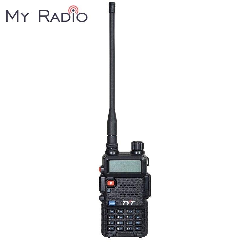 TYT Walkie Talkie VHF TH-UVF8 & UHF 136-174 & 400-480 mhz DTMF Scrambler Grupo 8 256CH dupla Afixação Dual Standby Rádio Em Dois Sentidos