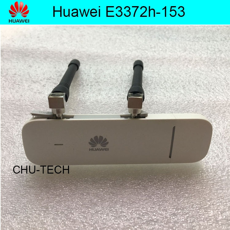 Unlocked Huawei E3372 E3372h-153 with antenna 4G LTE Dongle USB Stick Datacard Mobile Broadband USB Modems 4G Modem LTE Modem