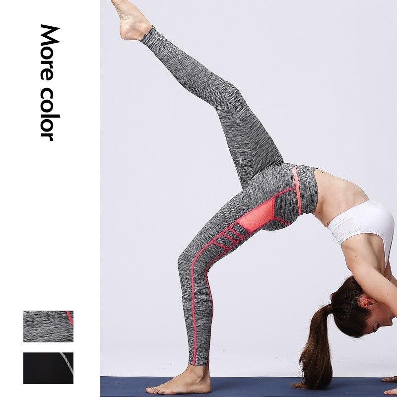 Pantalones de Yoga de cintura alta con bolsillos para teléfono femenino flexibles para gimnasia pilates deportes de Yoga corriendo mallas de Yoga Lulú mallas de baile