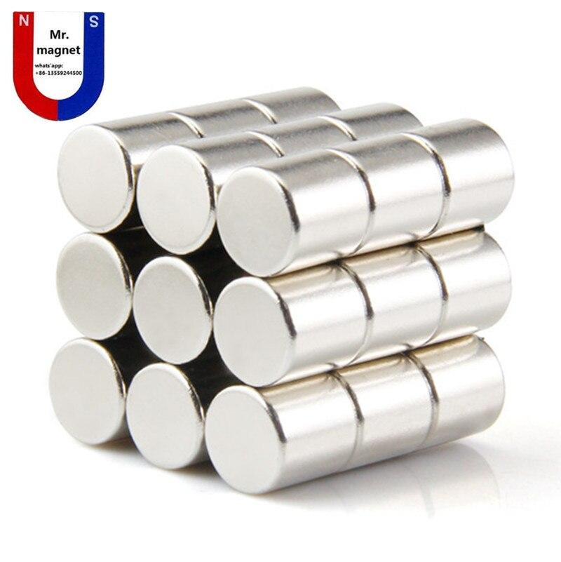 2019 nova 2 pcs 30x30mm de diâmetro ímã NdFeB material magnético forte, ímãs poderosos 30*30mm de Diâmetro do cilindro. 30x30mm ímanes