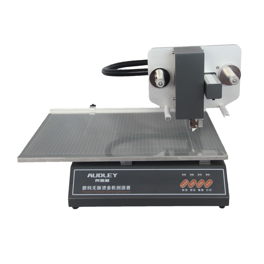 آلة ختم الرقائق الساخنة 220 فولت ، طابعة رقمية ، بدون لوحة ، للورق الساخن على البلاستيك والجلد والكمبيوتر المحمول ، 3050A