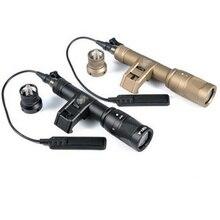 CQC táctico Airsoft M600V salida Dual LED SCOUT arma ligera arma al aire libre caza Rifle linterna