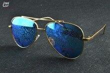 Clara Vida 2017-lunettes de soleil bleu glace   Miroir de Navigation daviation, vrai polarisé, uv400, uv100 %, lunettes de soleil super populaires pour hommes et femmes