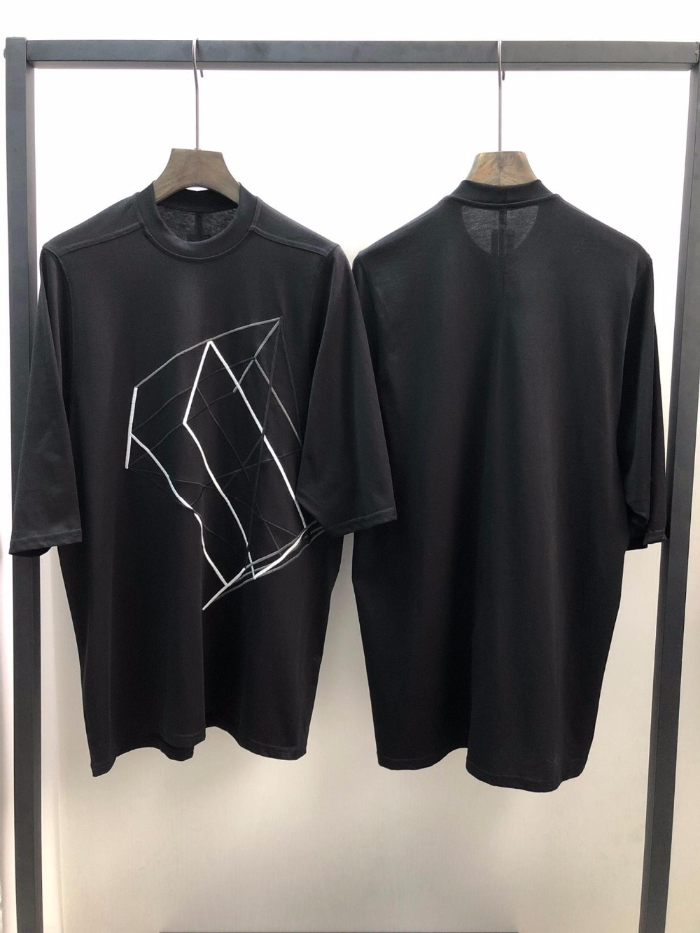 19ss Owen seak, camiseta para hombre, 100% de algodón, estilo gótico, ropa para hombre, camisetas de gran tamaño, camisetas de verano para mujer, camiseta negra