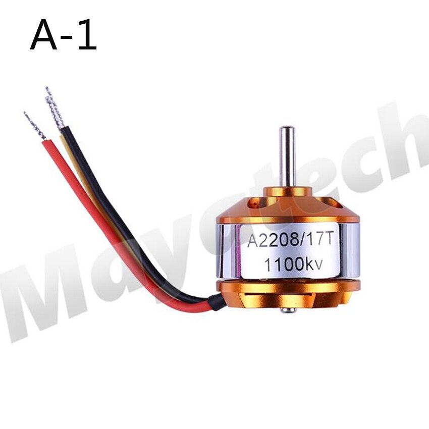Бесщеточный электродвигатель постоянного тока XXD A2208 KV1100/KV1400/KV1800/KV2600 для радиоуправляемых самолетов/лодок/моделей автомобилей, 1 шт.