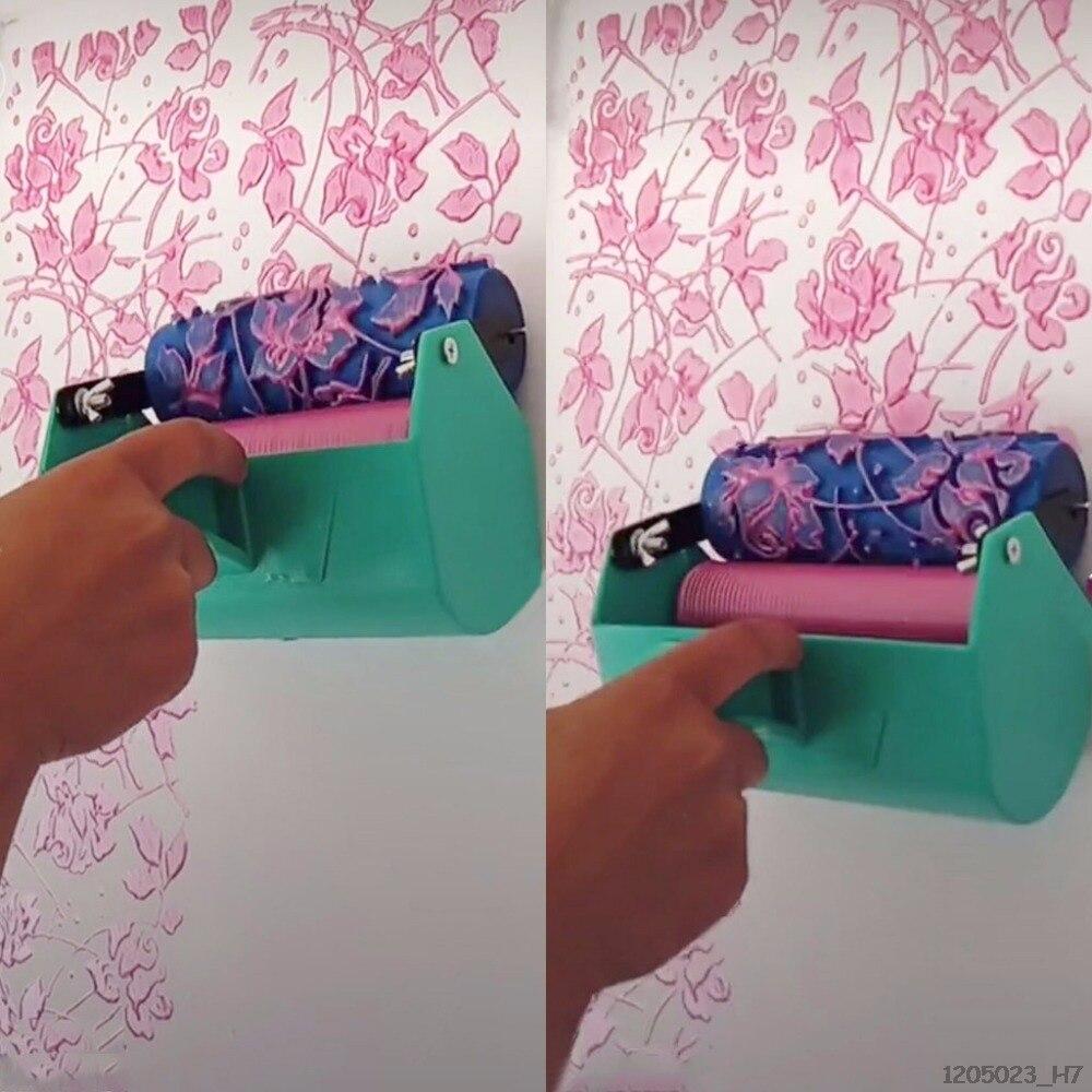 Decoración de un solo Color, máquina de pintura para 7 pulgadas, herramienta de cepillo de rodillo de pared 180x110mm