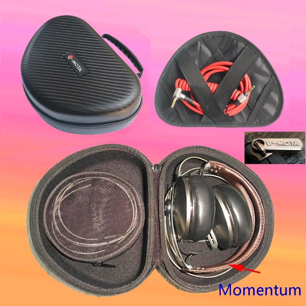 V-MOTA TDI headphone suitcase Carry case boxs For Sennheiser Urbanite XL WIRELESS/Momentum 2.0 On-Ear and DENON AH-MM400 headset