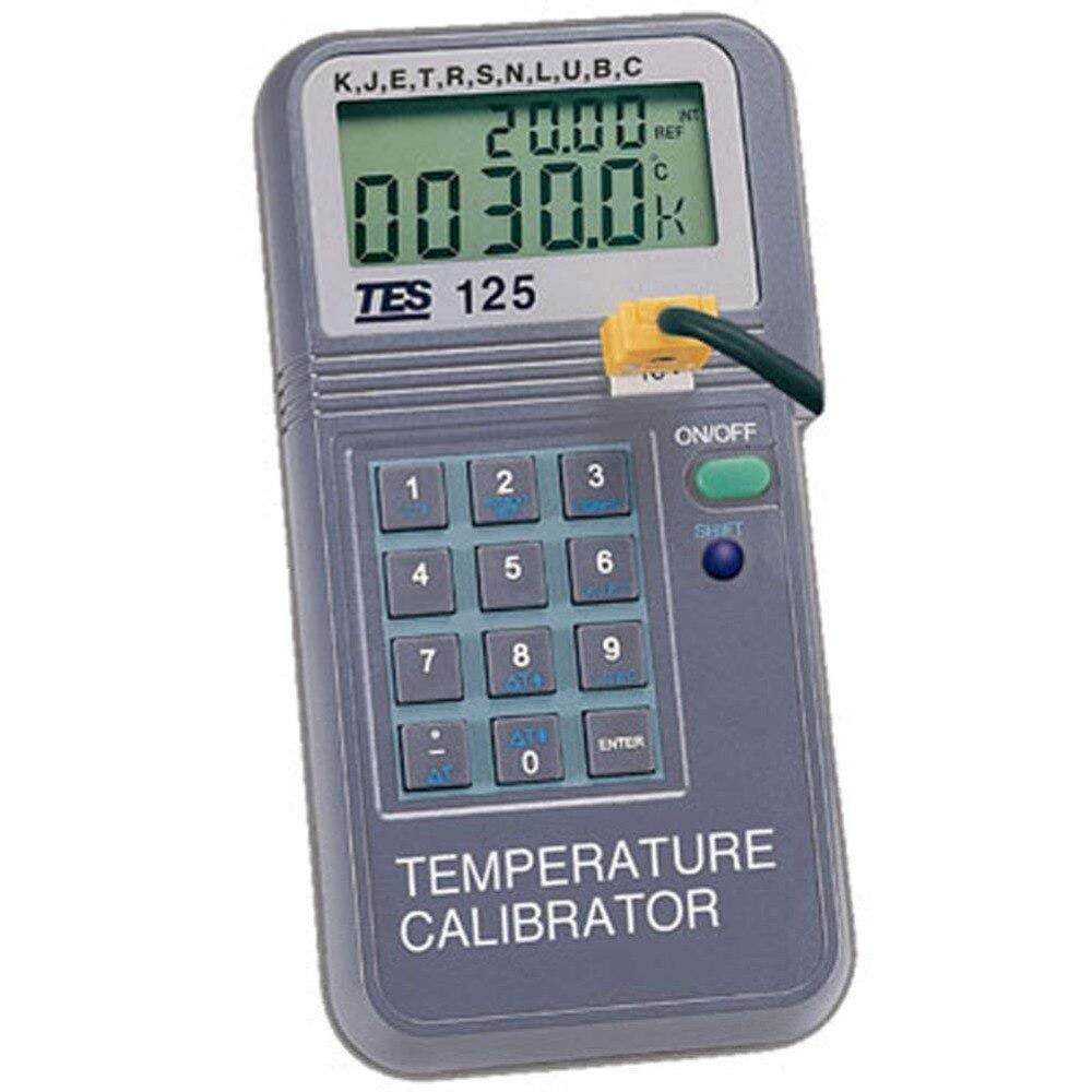TES PROVA-125 11 diferentes tipo de termopar K J E T R S N L U B C de temperatura PROVA125