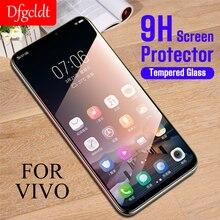 9 H закаленное защитное стекло для экрана Vivo X7 X9 X9s X20 Plus V9 Высокое качество ультра-тонкий для Vivo X21 V7 Plus V9