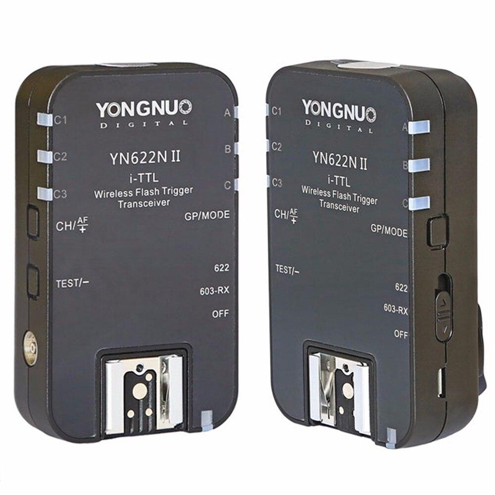 YONGNUO YN-622N II YN622N II TTL disparador de Flash inalámbrico para Nikon D800 D700 D600 D610 D300