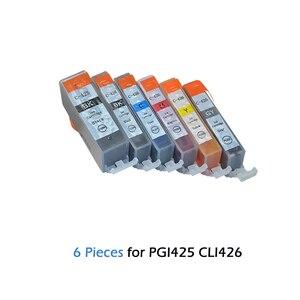 PGI 425 CLI 426 картриджи с чернилами для принтера Canon PIXMA IP4840 IP4940 IX6540 MG5240 MG5140 MG5340 MX884 MX714 MX894 принтер PGI425 CLI426