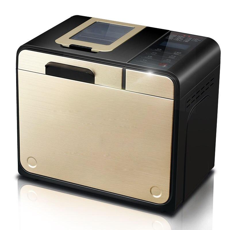 ماكينة الخبز المنزلية الأوتوماتيكية متعددة الوظائف CUKYI بقدرة 100 وات ماكينة الخبز وترش الفواكه تلقائيًا بسعة 700 جرام/900 جرام