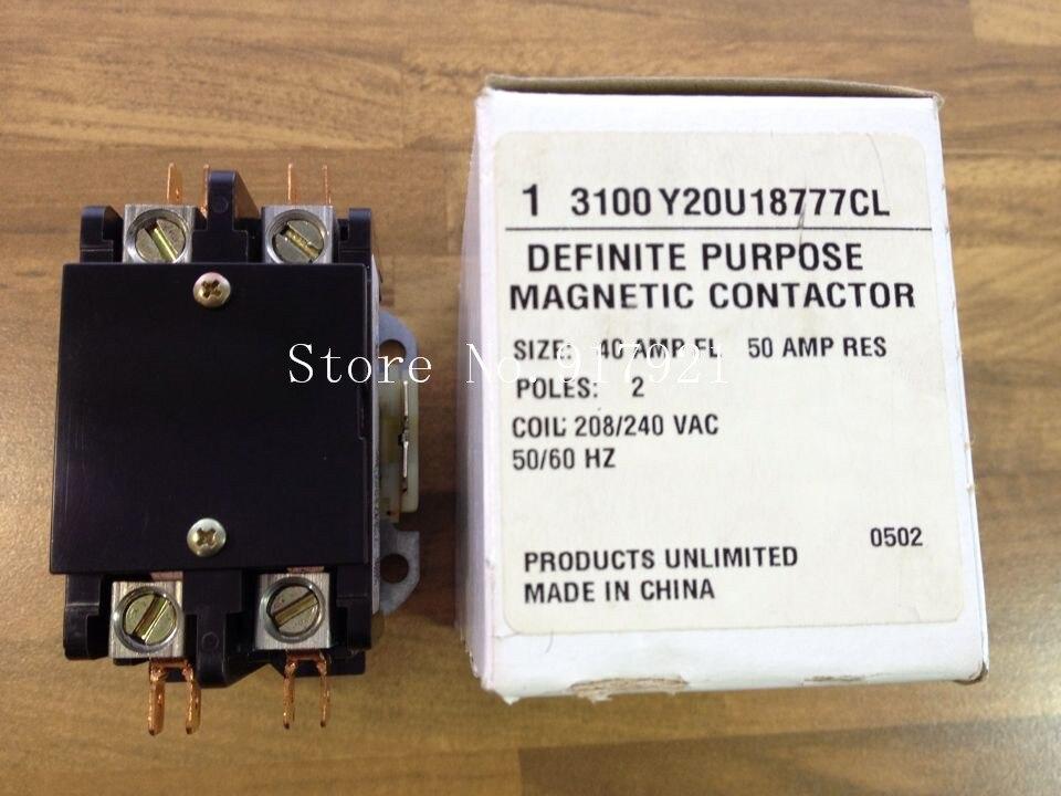 [ZOB] The original DEFINITE PUBPOSE 3100 Y20U18777CL 220V 40A contactor  --5pcs/lot