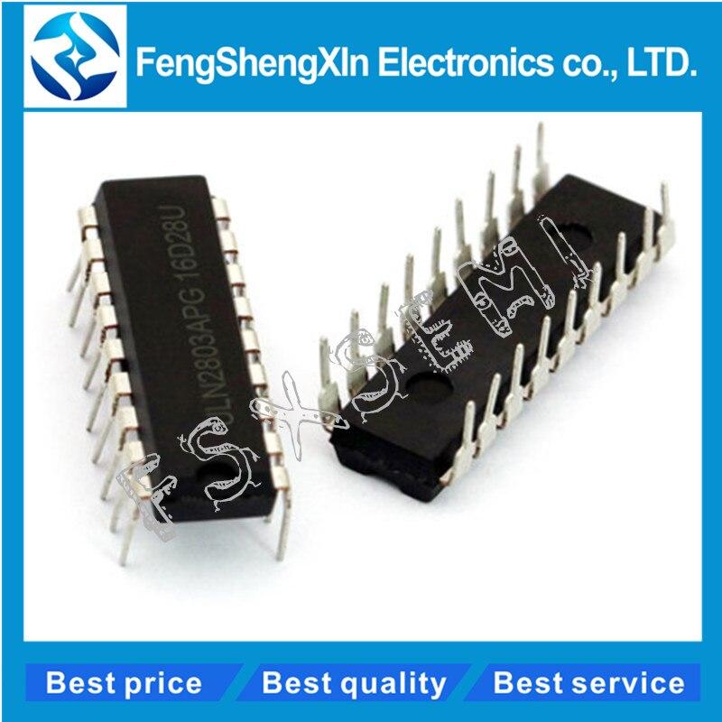 10 pçs/lote ULN2803APG ULN2803 DIP-18 ULN2803AN ULN2803A Octal Alta Tensão, Alta Corrente Darlington Transistor Arrays