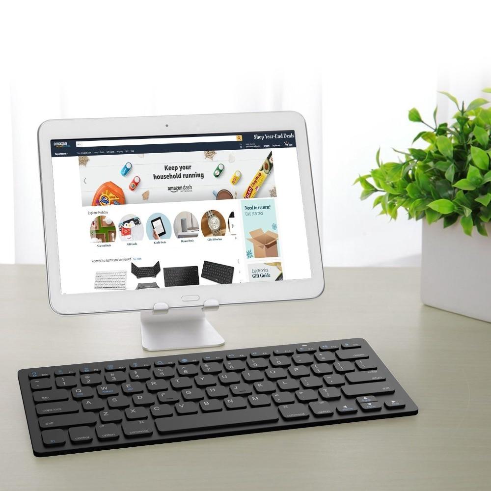 Para samsung galaxy tab avançado 2 t583 SM-T583 universal teclado sem fio bluetooth 3.0 teclado para SM-T583 2019 caso funda
