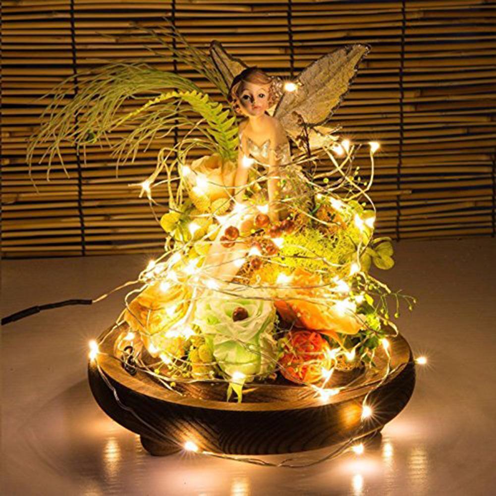 12Pcs/Set 1/2m Copper Wire LED String Light Lamp Home Bedroom Party Bar Decor