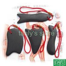 Wholesale & Retail Traditional  Massager Guasha massage tool Natural Bian stone 4pieces/set