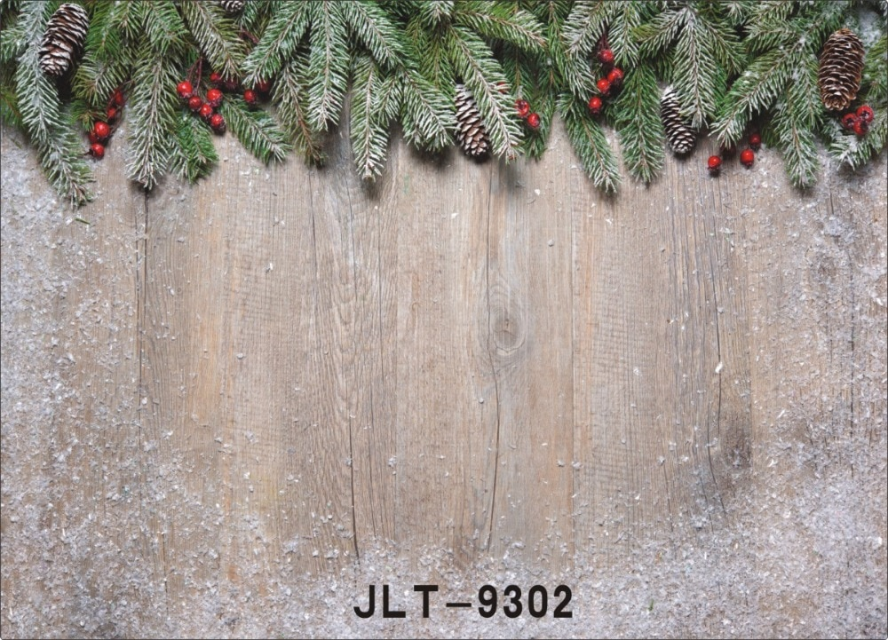 Christmas Photography Backdrops Wooden Plank Photo Backgrounds for Photo Studio Children Kids New Born Baby Photophone Photocall