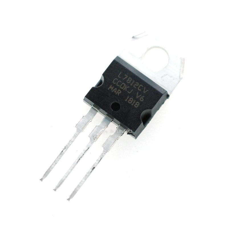 10 PCS/Lot nouveau L7812CV L7812 7812 Triode TO-220 12 V 1,5a régulateur de tension
