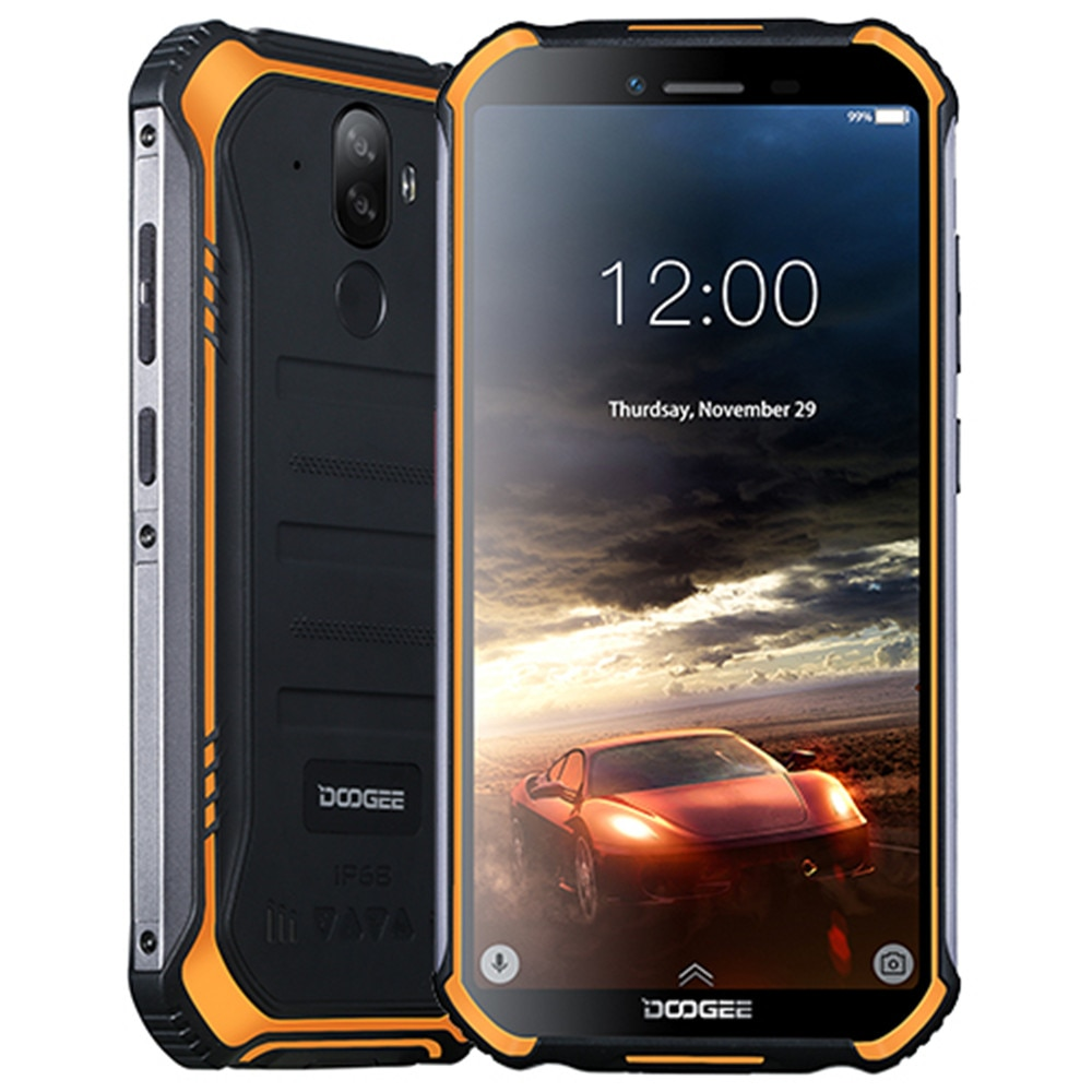 Смартфон Doogee S40, Android 9,0 Pie, IP68 IP69K водонепроницаемый, 5,5 дюйма, 4650 мач, сканер лица, сканер отпечатка пальца, 4G LTE NFC